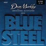 ENCORDOAMENTO GUITARRA BLUE STEEL 13-56 2557 - DEAN MARKLEY