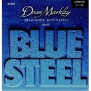 ENCORDOAMENTO GUITARRA BLUE STEEL, MEDIUM, 11-52 2562 - DEAN MARKLEY