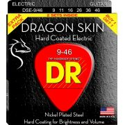 ENCORDOAMENTO GUITARRA DRAGON SKIN PACK DUPLO 0.10 DSE2-10 - DR STRINGS