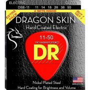 ENCORDOAMENTO GUITARRA DRAGON SKIN PACK DUPLO 0.11 DSE2-11 - DR STRINGS