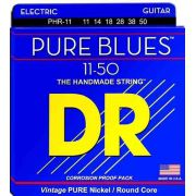 ENCORDOAMENTO GUITARRA PURE BLUES 0.011 PHR-11 - DR STRINGS