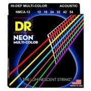 ENCORDOAMENTO Hi-Def NEON MULTI COLORIDO 0.12 NMCA-12 -  DR STRINGS