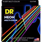 ENCORDOAMENTO P/ GUITARRA Hi-Def MULTI COLOR 0.10 NMCE-10 - DR STRINGS