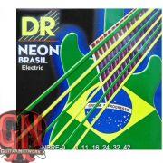 ENCORDOAMENTO P/ GUITARRA Hi-Def NEON BRAZIL 0.09 NBRE-9 - DR STRINGS
