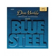 ENCORDOAMENTO VIOLAO BLUE STEEL, LIGHT, MEDIDA 11-52 2034 - DEAN MARKLEY