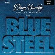 ENCORDOAMENTOS GUITARRA BLUE STEEL 09-42 2552 - DEAN MARKLEY