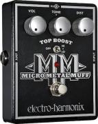 Pedal de distorção com Top Boost - Micro Metal Muff - Electro-harmonix