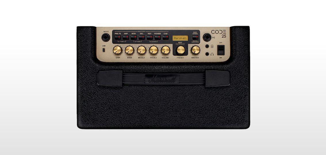 Amplificador digital para guitarra CODE25 - MARSHALL