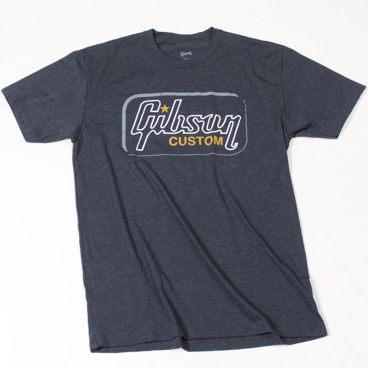 CAMISETA XL GIBSON CUSTOM T GA-GCRMXL - CINZA - GIBSON