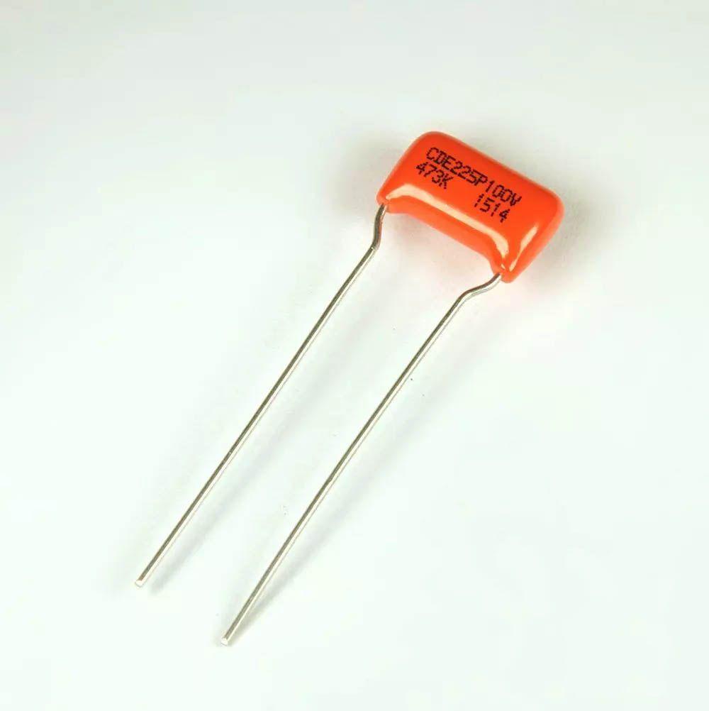 Capacitor Orange Drop .047 Tone Single Coil Stewmac