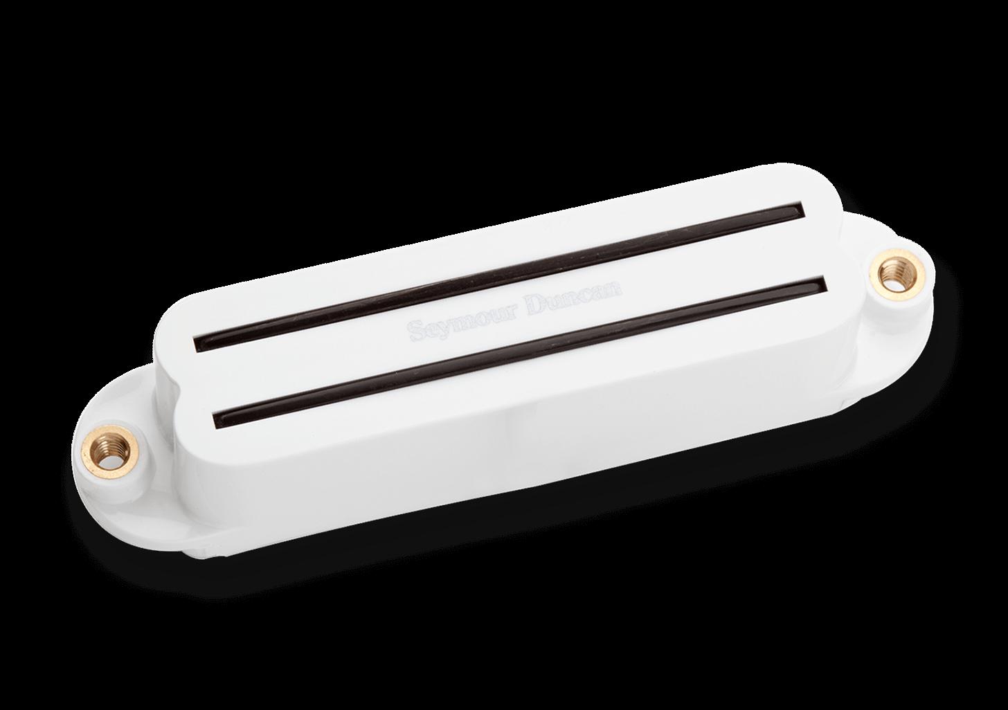 Captador mini Humbucker Hot Rails for Strat White 11205-02-WSHR-1b Ponte - SEYMOUR DUNCAN