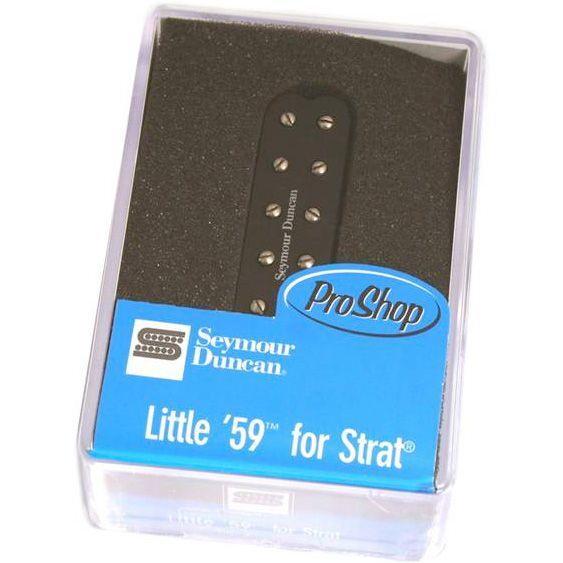 Captador mini Humbucker Little 59 for Strat Blk 11205-22-BSL59-1b Ponte - SEYMOUR DUNCAN