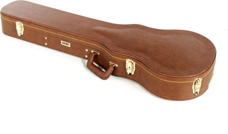 CASE DELUXE P/ Guitarra LP em madeira (marrom) - GW-LP-BROWN - GATOR