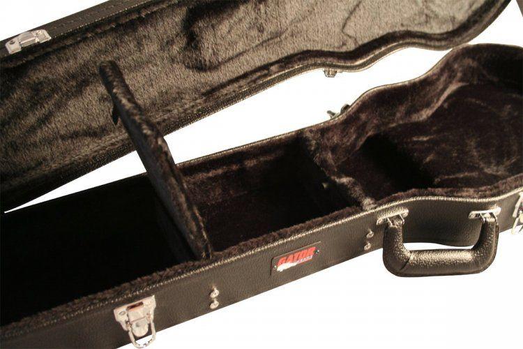 Case Para Guitarra LP em madeira  Preto - GW-LPS - GATOR