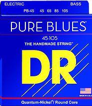 ENCORDOAMENTO BAIXO 4 CORDAS PURE BLUES 0,45 PB-45 - DR STRINGS