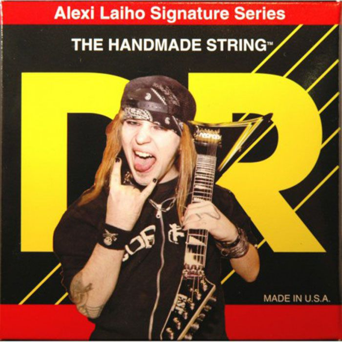 ENCORDOAMENTO GUITARRA Alexi Laiho Nickel Plated SAL-10 - DR STRINGS