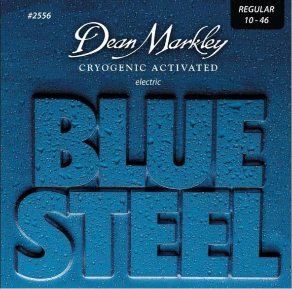ENCORDOAMENTO GUITARRA BLUES STEEL, REGULAR 10-46 2556 - DEAN MARKLEY