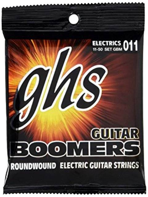 ENCORDOAMENTO GUITARRA GBM 0.11 - 0.50 - GHS