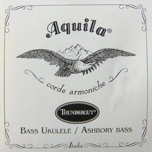 ENCORDOAMENTO UKULELE BASS THUNDERGUT - AQUILA
