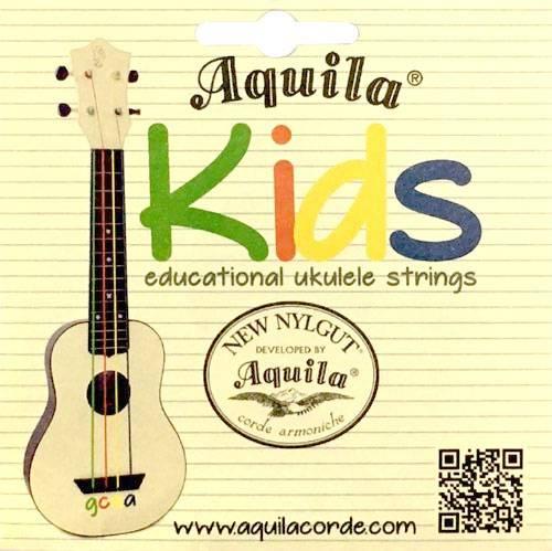 ENCORDOAMENTO UKULELE NEW NYLGUT KIDS - AQUILA
