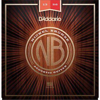 ENCORDOAMENTO VIOLÃO AÇO NICKEL BRONZE NB1356 - DADDARIO