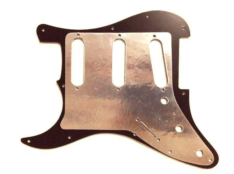Escudo Para Guitarra Stratocaster Sss Preto - Fender