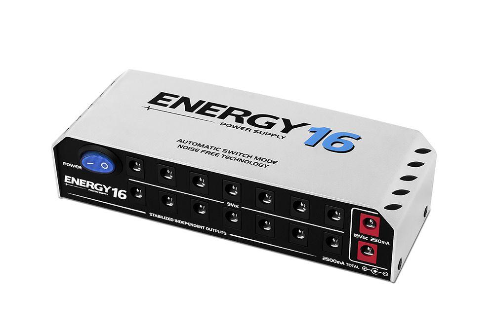 Fonte Energy E16 para ate dezesseis pedais com cabos independentes - LANDSCAPE