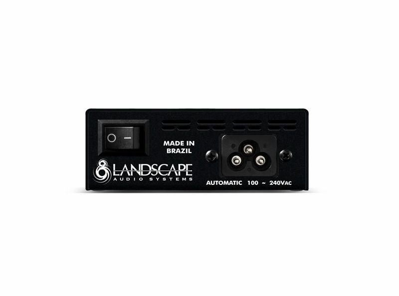 Fonte ISOPOWER4 bivolt automática com 4 saídas isoladas - preta - LANDSCAPE