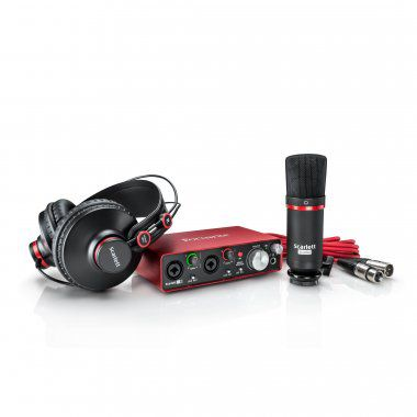 INTERFACE DE AUDIO 2ND-GN 2I2 SCARLET STUDIO - FOCUSRITE