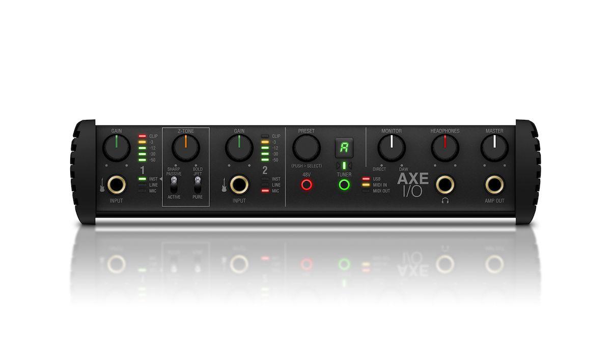 Interface de áudio high-end P/ Guitarra Axe I/O - IK MULTIMEDIA