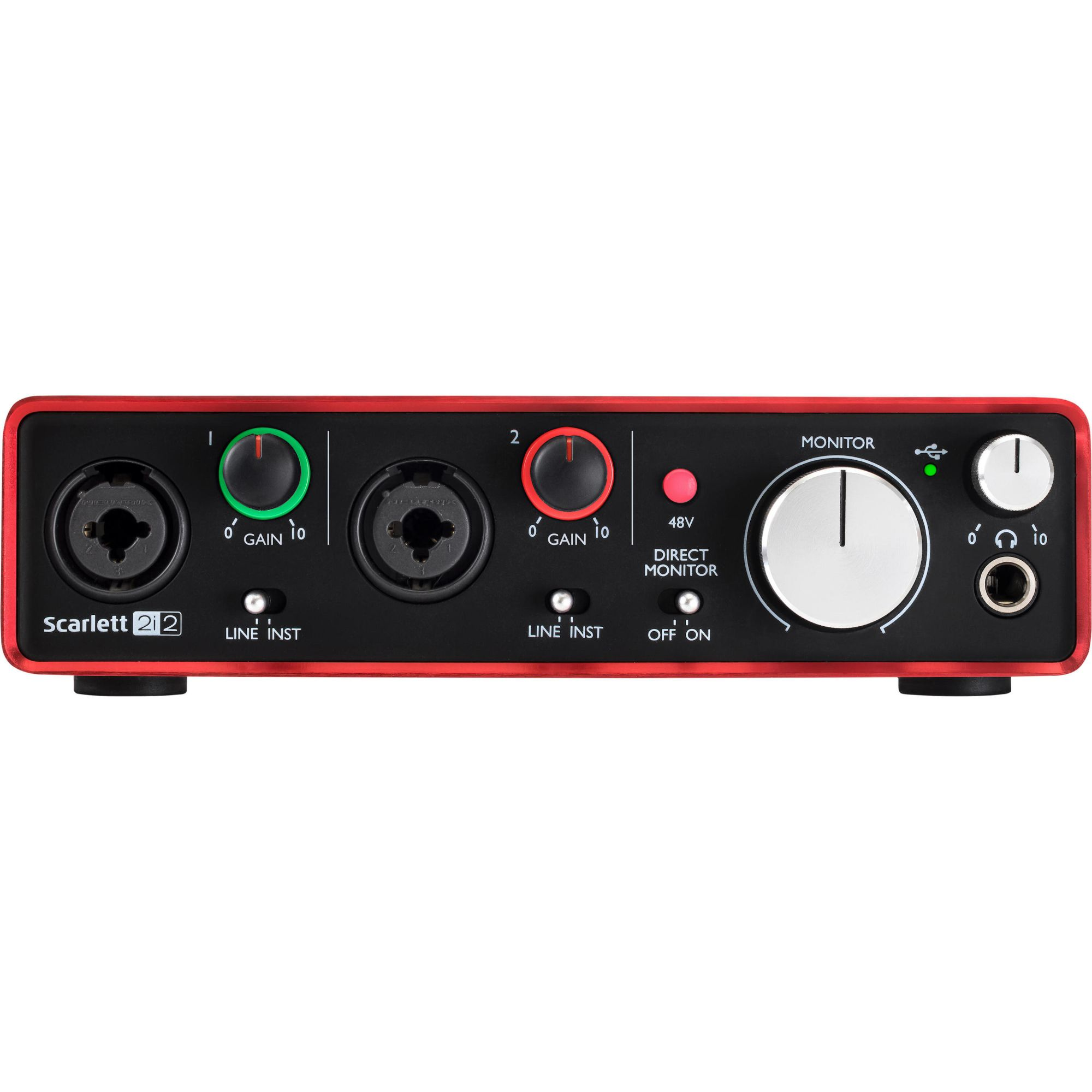 INTERFACE DE AUDIO USB 2ND-GN SCARLETT 2I2
