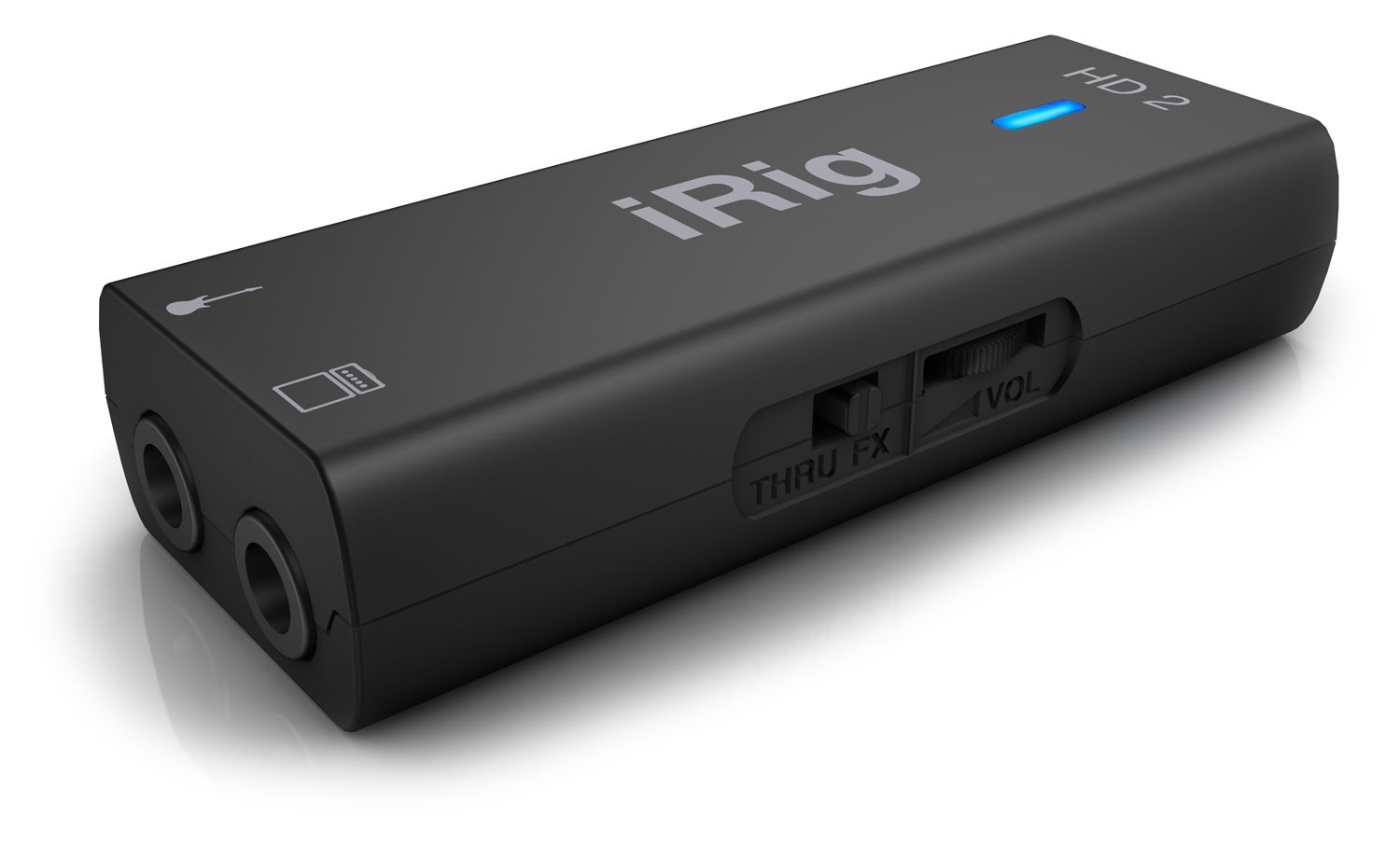 Interface de guitarra e baixo - iRig HD 2 - IK MULTIMEDIA