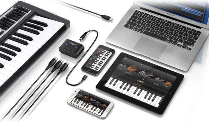 Interface MIDI universal - iRig MIDI 2 - IK MULTIMEDIA