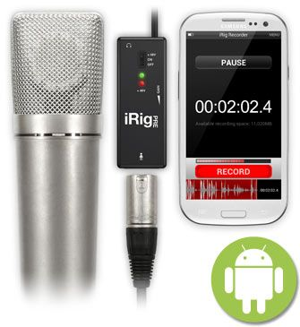 Interface para microfone - iRig PRE - IK MULTIMEDIA