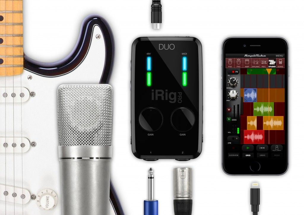 Interface de áudio de 2 canais - iRig Pro DUO - IK MULTIMEDIA