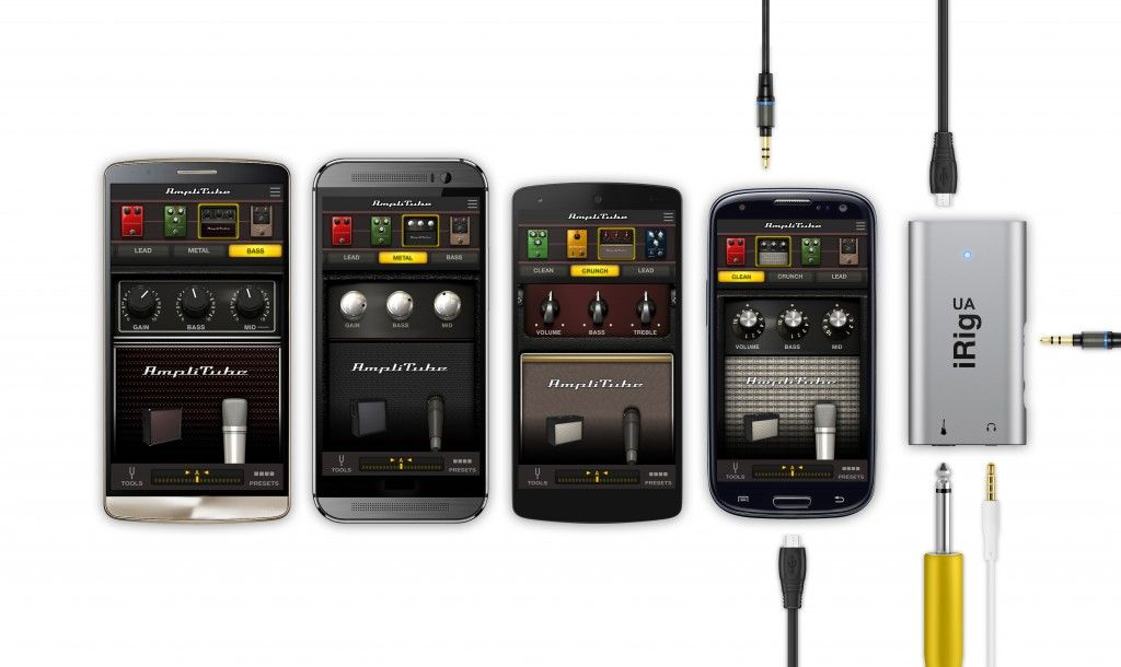 Interface de áudio - iRig UA - IK MULTIMEDIA