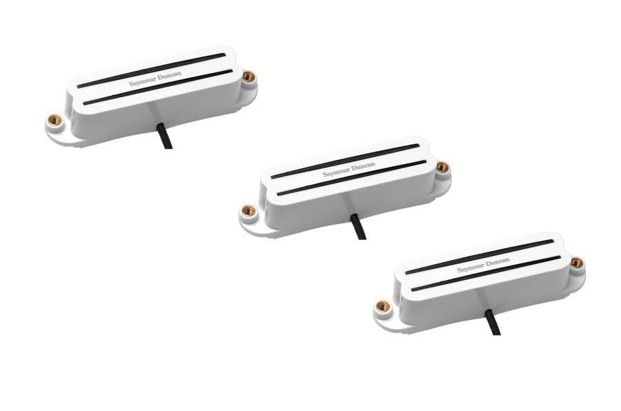Kit 3 Captadores mini Humbucker Hot Rails for Strat White Ponte / Meio / Braço SHR-1 - SEYMOUR