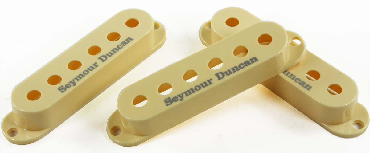 KIT COM 3 CAPAS P/ CAPTADOR SINGLE STRAT CREAM  - SEYMOUR DUNCAN