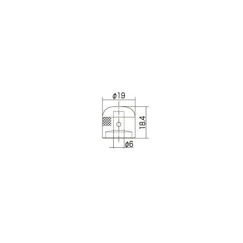 Knob De Metal Guitarra Vk1-19 Cromado (3un) - Gotoh