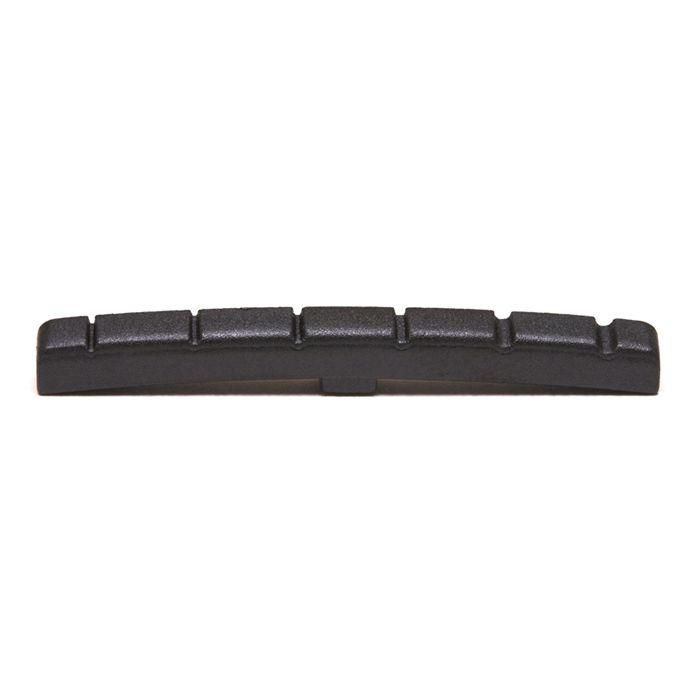 Nut PT-5000-00 + Rebaixador de corda PT-7004-00 (igual PT-5001-00) para guitarras estilo Fender Strat® ou Tele®  Black T