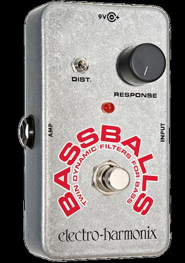 Pedal Bassballs para Contrabaixo - Twin Dynamic Envelope Filter - electro-harmonix