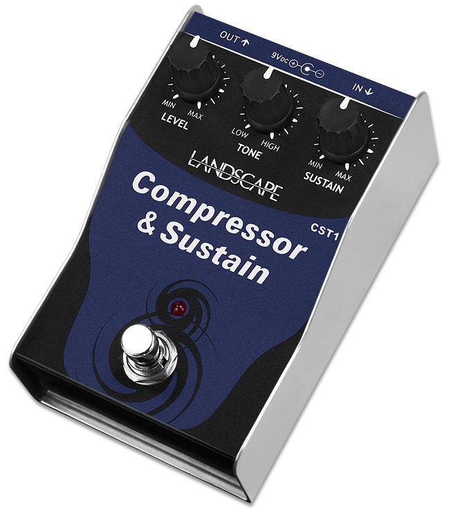 Pedal de efeito Compressor & Sustain CST1 - LANDSCAPE