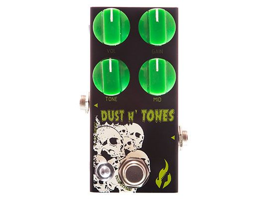 Pedal Distortion Dust and Tones - FIRE
