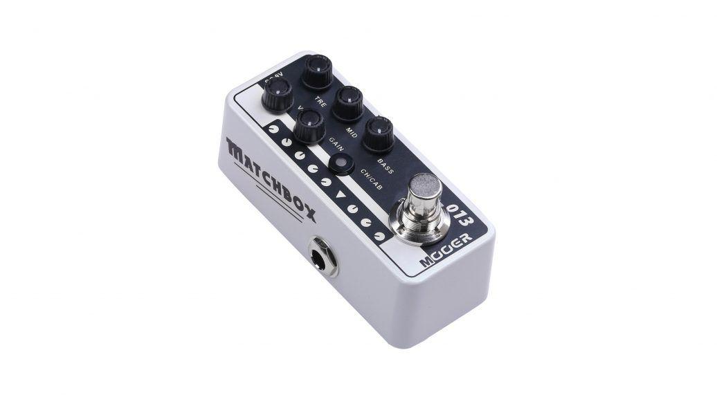 Pedal Pré-Amplificador M013 Matchbox - Mooer