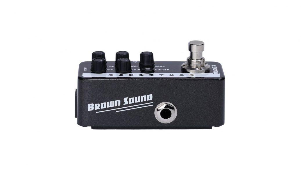 Pedal Pré-Amplificador M015 Brown Sound PEAVEY 5150 - Mooer