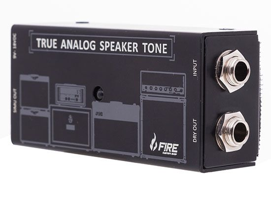Pedal Speaker Simulador TAST - FIRE