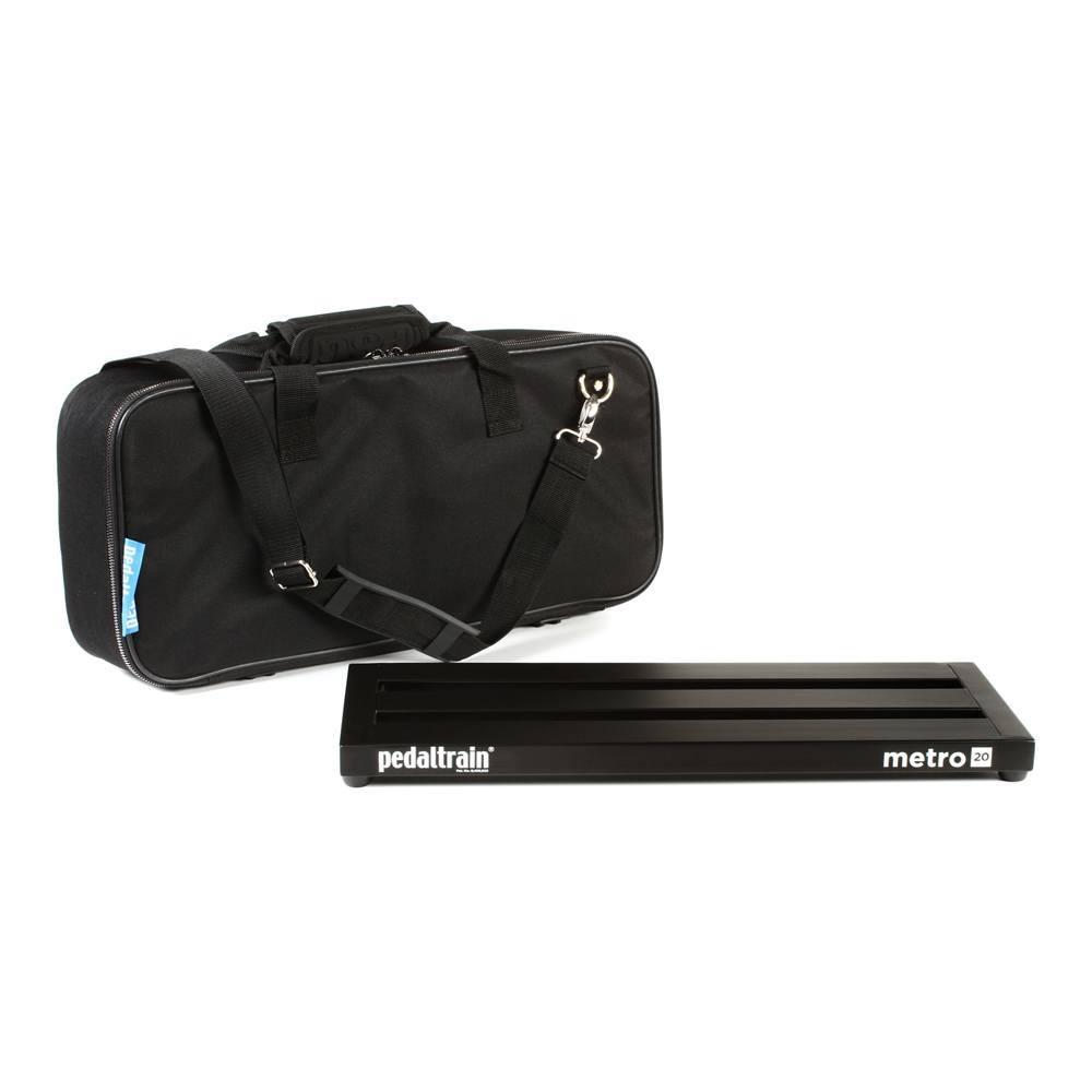 Pedalboard com soft case e fonte recarregável Volto PT-VT1 - Pedaltrain