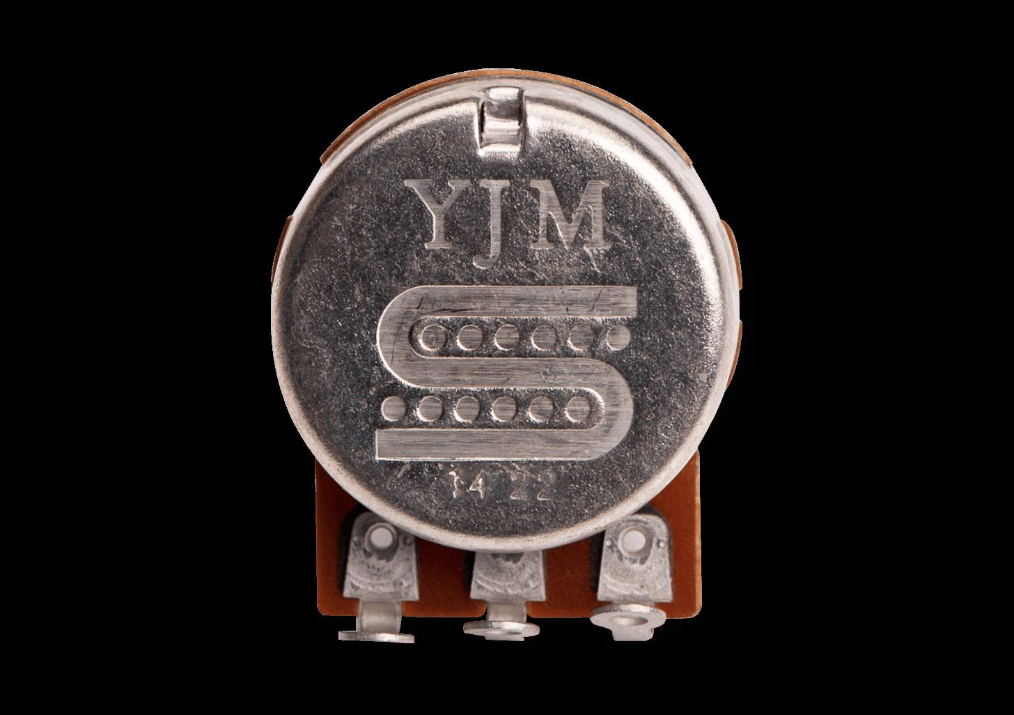 Potenciômetro 500K YJM logo 11807-50-500 -YJM-500 - SEYMOUR DUNCAN
