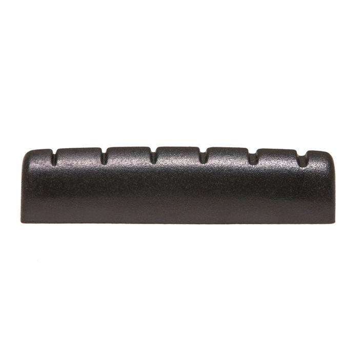 "PT-6060-00 - BLACK TUSQ XL - NUT COM SLOTS PARA GUITARRA TIPO EPIPHONE 1/4"" - GRAPHTECH"