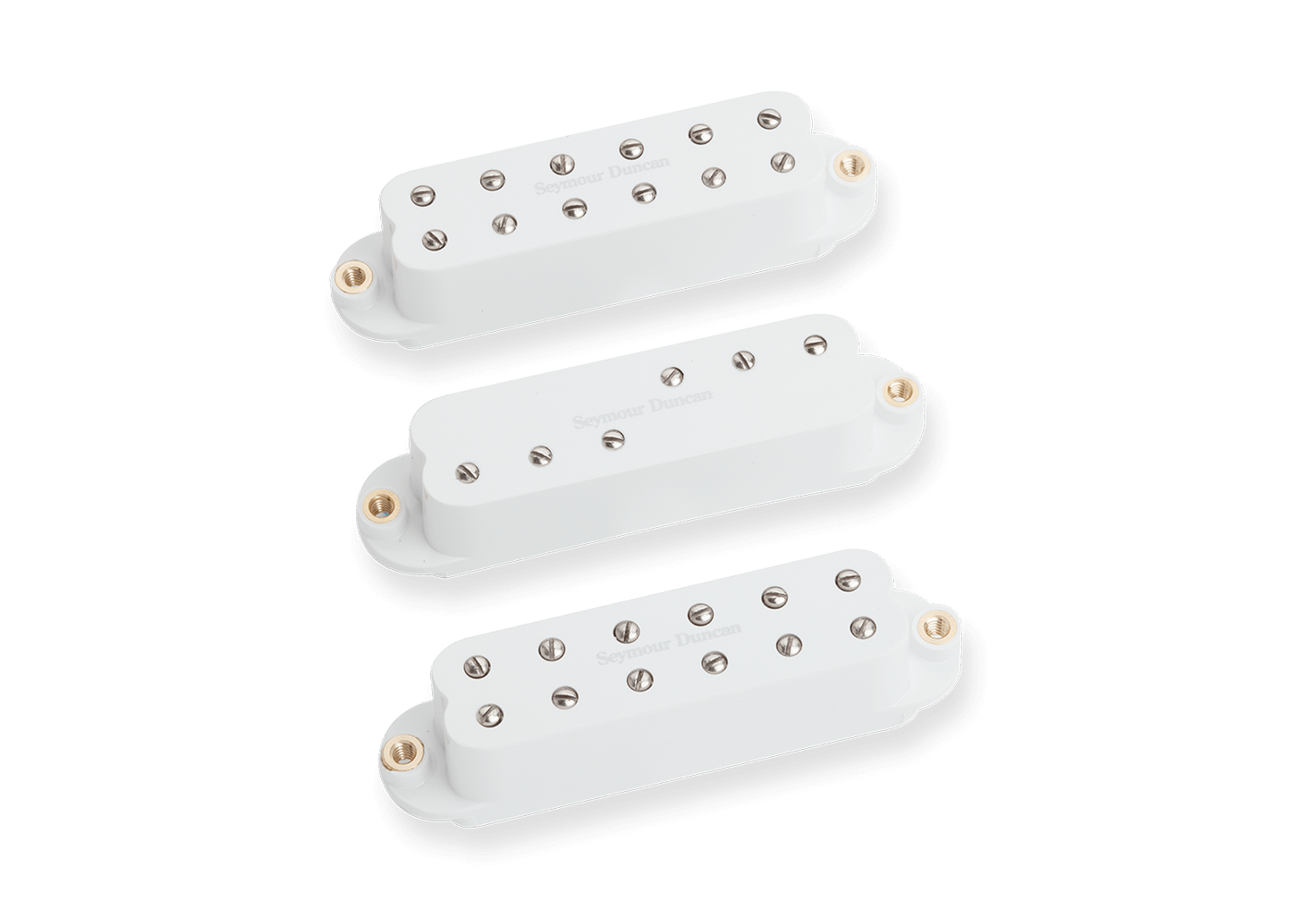 Set Captadores Mini Humbucker Everything Axe White 11208-15-W - SEYMOUR DUNCAN